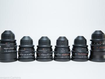 Zeiss Super Speed MkII 6 Lens Set (18, 25, 35, 50, 85, 135)