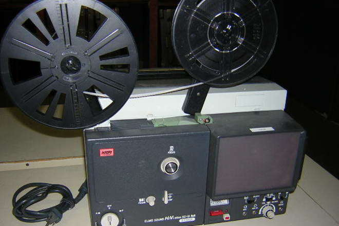 Rent Elmo SC-18 Super 8mm Sound Film Projector | ShareGrid