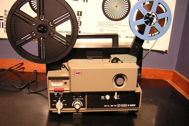 Rent a Elmo ST-180 Super 8mm Sound Film Projector, Best