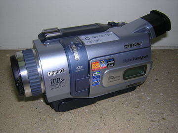 Rent: Sony DCR-TRV 340E Hi 8mm camera NTSC