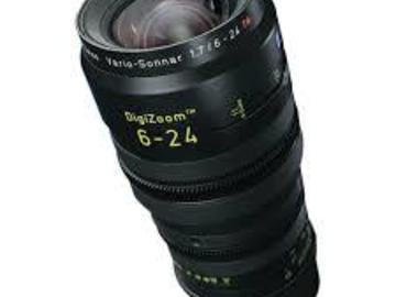 Rent: Zeiss DigiZoom 6-24 7.19 with Abakus Micro 4/3 adapter