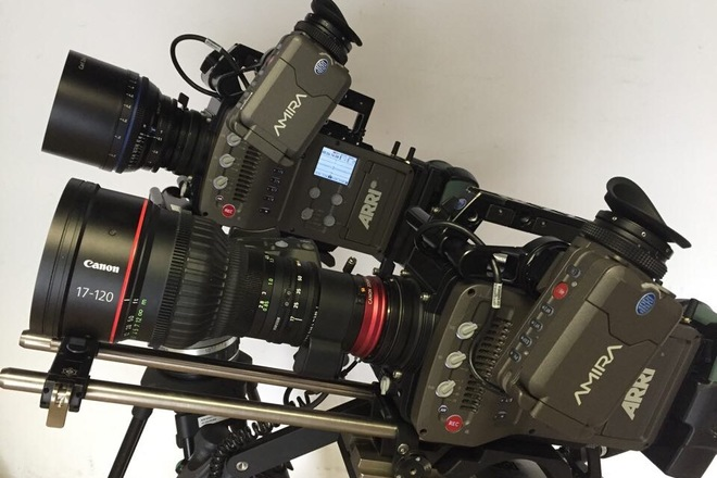 Arri Amira complete camera package w/ 4k License (X2)
