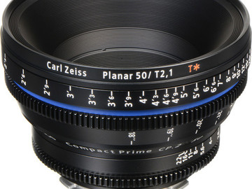Rent: Zeiss Compact Prime CP.2 50mm / T2.1 Cine Lens (PL Mount)