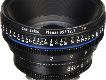 Rent: Zeiss Compact Prime CP.2 85mm/T2.1 Cine Lens (PL Mount)