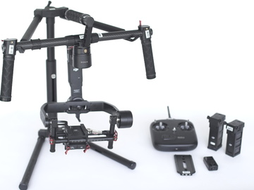Rent: DJI Ronin M 3-Axis Gimbal W/ 2 Batteries