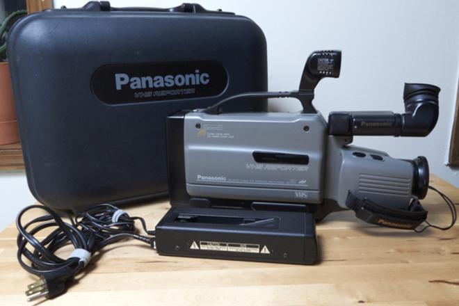 Panasonic VHS Reporter w/ Digital Conversion Kit