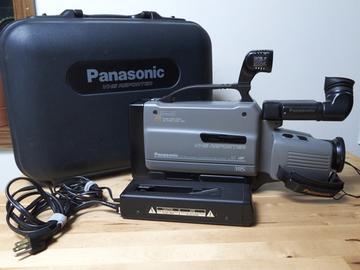Rent: Panasonic VHS Reporter w/ Digital Conversion Kit
