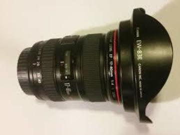Rent: Canon EF 17-40mm f/4 L USM