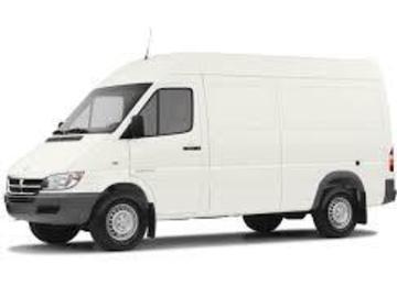 1-ton Sprinter grip van w/Dana Dolly & Mini-Jib