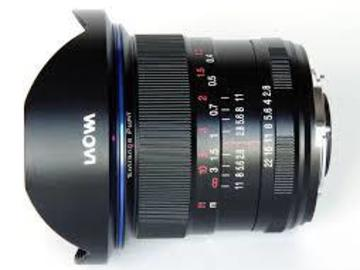 Rent: Loawa 12MM F2.8 rectilinear lens W/ Haida NDx8