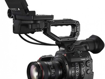 Rent: Canon C300 Mark II Camera with 24-70mm and sachtler tripod