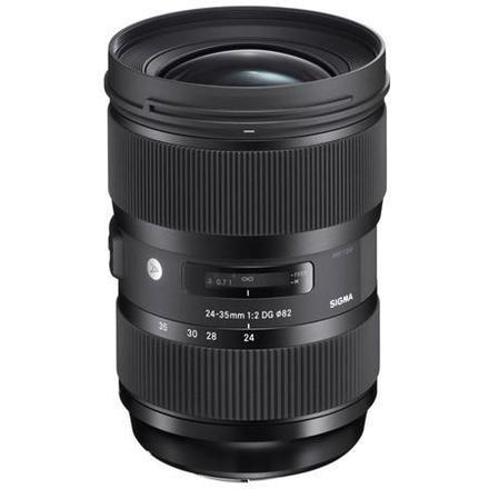 Sigma 24 - 35mm EF f/2.0 DG HSM Art Lens