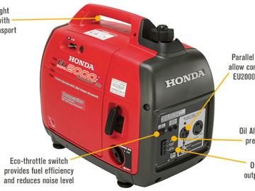 Rent: Honda EU 2000i