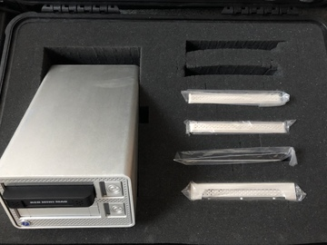 Rent:  G-Tech G-Dock W/ HDs & RED Mini Mag Reader