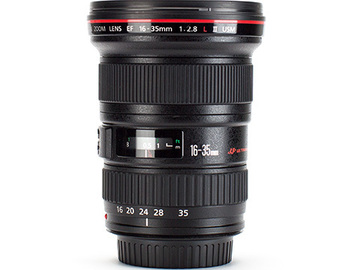 Rent: Canon EF 16-35mm f/2.8 L II with seamless zoom/focus rings