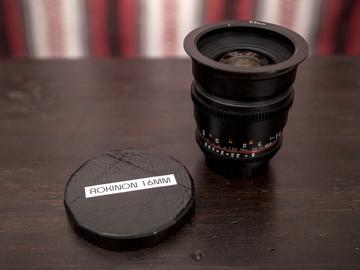Rent: Rokinon Cine DS 16mm