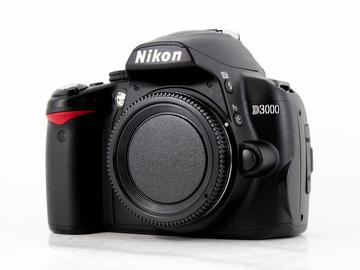 Rent: Nikon D3000