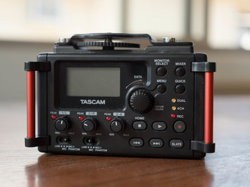 Rent: Tascam DR-60DmkII 4-Channel Portable Recorder for DSLR