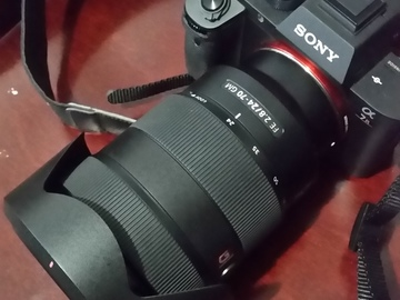 Rent: Sony  24-70mm G master lens. GM