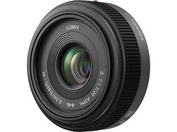Rent: Lumix 20mm MFT Mount  f/1.7