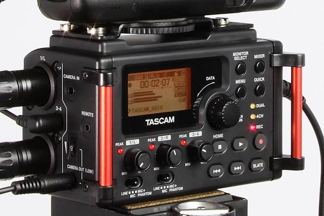 Tascam DR-60DmkII 4-Channel Portable Recorder & AT8035 mic