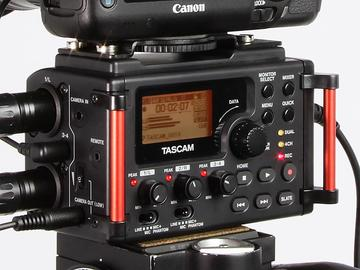 Rent: Tascam DR-60DmkII 4-Channel Portable Recorder & AT8035 mic