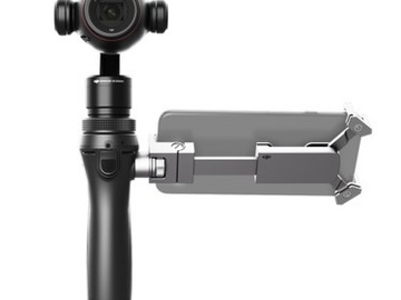 Rent: DJI Osmo+ with car mount