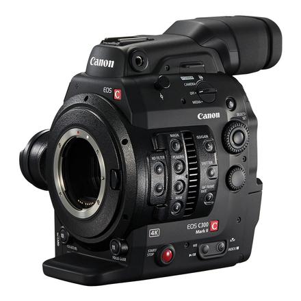 Canon EOS C300 Mark II Cinema Camera (3 x 512GB Cfast)