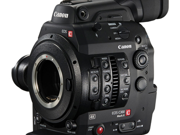 Rent: Canon EOS C300 Mark II Cinema Camera (4 x 512GB Cfast)