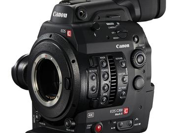 Canon EOS C300 Mark II Cinema Camera (4 x 512GB Cfast)