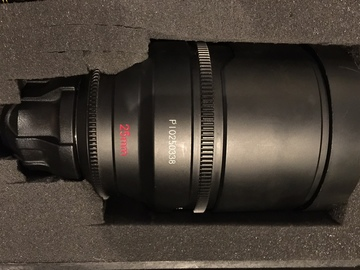Rent: 25mm Red Pro Prime