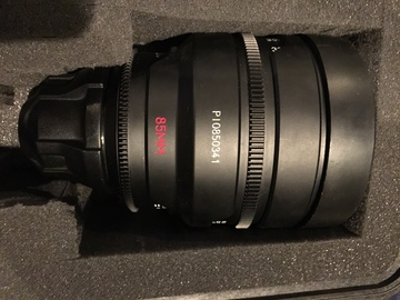 Rent: 85mm Red Pro Prime