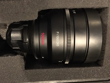 Rent: 100mm Red Pro Prime