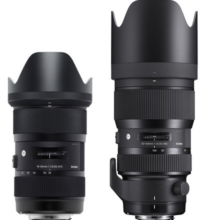 Sigma Art EF-mount zoom lens package