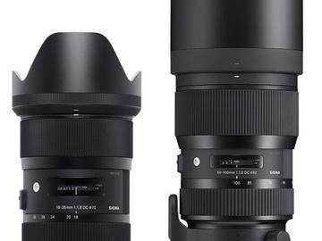 Rent: Sigma Art EF-mount zoom lens package