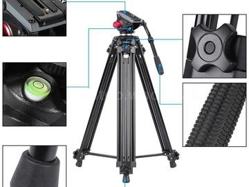 "Rent: Professional Heavy Duty 67""inch DV Video Camera Tripod Stand"