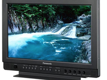 "Rent: 26"" Panasonic and 17"" Panasonic Production Monitors"
