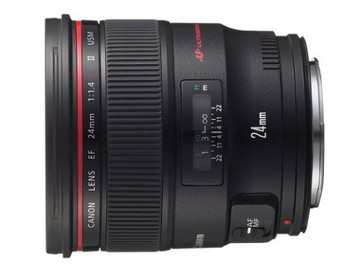 Rent: Canon 24mm 1.4 L Mark II