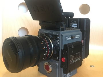 Rent: RED Scarlet-W Dragon 5K w/ Rokinon Cine Lens