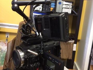 Rent: Blackmagic URSA Mini Pro 4.6K Camera Package