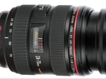 Rent: Canon 24-70 f/2.8 USM Lens w/ Focus Gear
