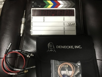 Rent:  Denecke Compact Dcode TS-C Smart Time-Code Slate (Backlit)