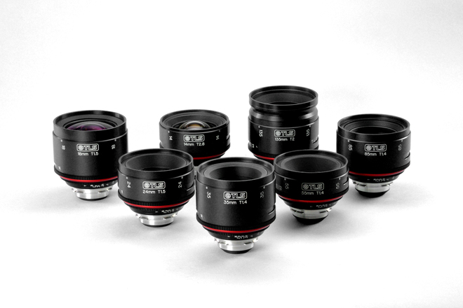 Canon K-35 Primes - Rehoused by TLS