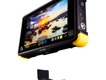 Rent: Atomos Shogun 7-in 4K HDMI & SDI Recorder w/SSD