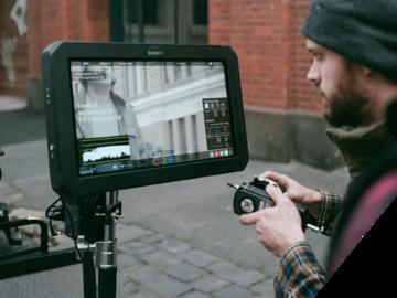 """Rent: Atomos Sumo 19"""" 4K 12bit HDR Directors Monitor & Recorder"""