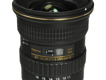 Rent: Tokina AT-X 11-16mm f/2.8 116 Pro DX II (Canon)