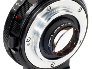 Rent: Metabones Speed Booster XL 0.64x Adapter for Nikon F-Mount L
