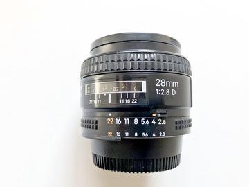 Rent: Nikon AF Nikkor 28mm f/2.8D