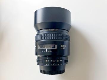 Rent: Nikon AF Nikkor 85mm f/1.8D