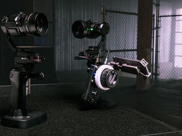 DJI Osmo X5 Gimbal Kit with Follow Focus wheel
